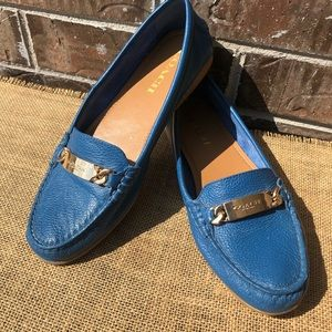 Coach Blue OLIVE Loafer 8